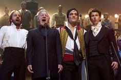 Alfie Boe, Colm Wilkinson, Ramin Karimloo, and Nick Jonas - 25th anniversary concert of Les Mis.