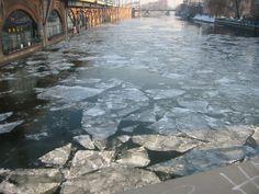 Winter in Berlin at Jannowitzbrücke