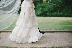 Couple: Natasha & Robert Anniversary: 1/26/13 Location: Australia Photographer: Lace and Bowties Gown: Burnished Organza
