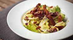 Recettes - Signé M - TVA - Salade césar, crémeuse de parmesan