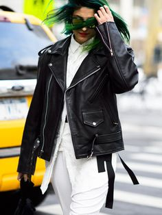 9 Style Lessons From NYC's Coolest Fashion Editors via @WhoWhatWear