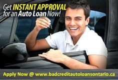 Instant auto loans arrange loans for you right away so that you complete your car dream. Bad credit auto loans Ontario supports financial help with friendly terms and interest rate which are more reasonable.