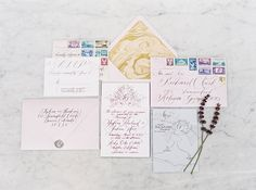 Stationery & Calligraphy : Red Letterday  Read More on SMP: http://www.stylemepretty.com/2015/09/01/elegant-malibu-rocky-oaks-estate-shoot/
