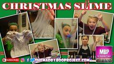 Clear Christmas Eve Slime