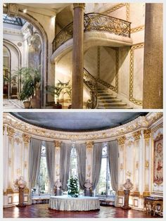Musée Jacquemart André (the former mansion built by a nineteenth century art collector, M. Andre, essentially to house his art collection), located at 158 Boulevard Haussmann, Paris, France VIII. Little-known fact: the Musée Jacquemart-André was used as Maurice Chevalier's house in the movie Gigi.