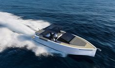 Smart and chic speedboat
