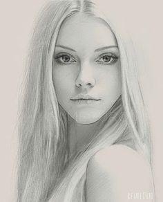 Resultado de imagen para dibujos de mujer a lapiz