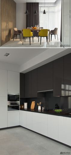Гостиная-кухня. - Галерея 3ddd.ru