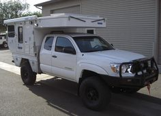 Key Benefits: Lightweight – Base model weighs only 1000 lbs. Low profile when the camper roof is down. 6 ft
