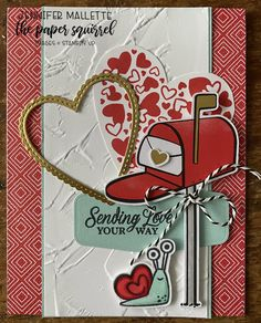 January 2021 paper pumpkin alternative. Added pool party cardstock Paper Pumpkin, Squirrel, Card Stock, Stampin Up, Alternative, Love You, Party, Projects, January