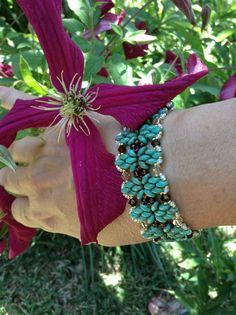 Bracelet with super duo