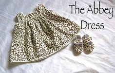 The Abbey Dress tutorial, from Shwin & Shwin