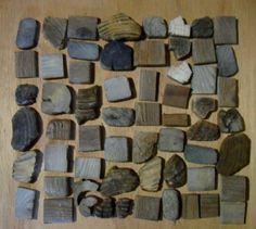 reclaimed wood mosaic tiles