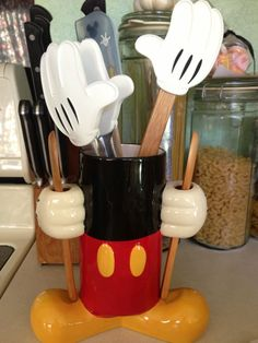 Mickey Mouse Kitchen Caddy  It matches brilliantly with my canister set I had made!!