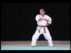 Wado-kai complete karate kata Wanshu - YouTube