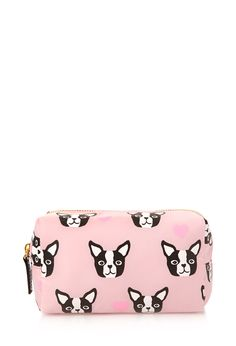 Boston Terrier Cosmetic Bag #F21Cosmetics - bah! i HAVE THIS
