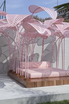 Designer Marc Ange has recently launched 'Le Refuge', an outdoor sun lounger, for The Invisible Collection in collaboration with The Green Gallery.