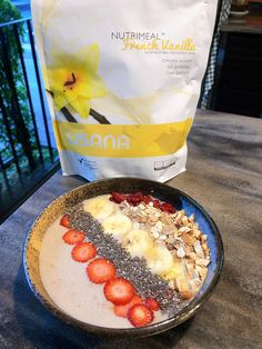 Nutrimeal - Ask The Scientists Smoothie Bowl, Meal Replacement Shakes, Nutritious Meals, Acai Bowl, Cravings, Breakfast, Health, Food, Meal Replacement Smoothies