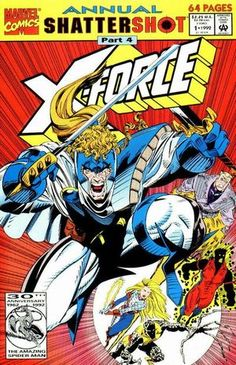 X-Force Annual Vol 1 1992