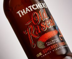 Cook Chick Design: Thatchers Cider: Old Rascal