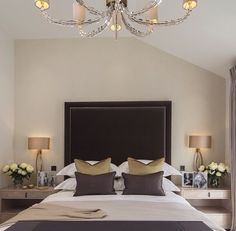 Bedroom Interior Design Ideas (1143)   https://www.snowbedding.com/