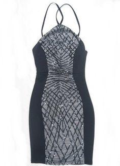 Kup mój przedmiot na #vintedpl http://www.vinted.pl/damska-odziez/sukienki-wieczorowe/16581944-sukienka-london-lipsy-asos-granatowa-cekiny-dopasowana-mini-sexy-xs