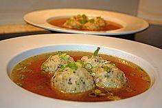 Tiroler Knödel Suppe