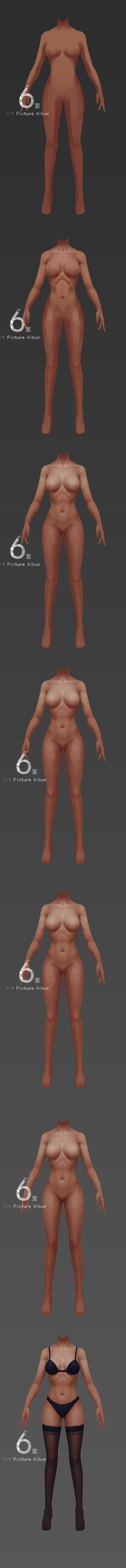 Female body anatomy paint. ¶ get more @rohitanshu ¶
