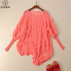 FREESHIPPING pleated lantern sleeve top outerwear loose irregular thin different T-shirt IN STOCK #Affiliate