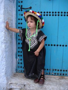 morocco moroccan kid berber hat