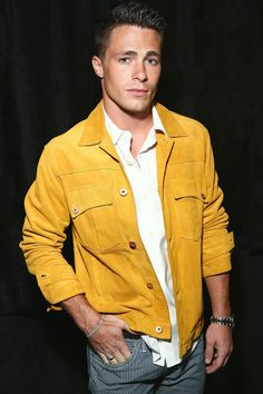 Colton Haynes Photos: Backstage at Billy Reid for New York Fashion Week