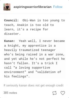 Reason number 153947201047392 why Kanan Jarrus is amazing and I love Star Wars R - Star Wars Clones - Ideas of Star Wars Clones - Reason number 153947201047392 why Kanan Jarrus is amazing and I love Star Wars Rebels Star Wars Rebels, Star Wars Clone Wars, Star Wars Art, Star Trek, Sw Rebels, Star Wars Jokes, Star War 3, The Force Is Strong, Star Wars Gifts