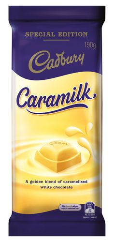 Cadbury: Caramilk Chocolate - (16 x 190g) Caramelized White Chocolate, Cadbury Dairy Milk, Cadbury Chocolate, Drinks, Products, Drink, Beverage, Drinking