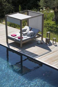 Skalen | garden bed By les jardins, double canopy garden bed, skalen Collection