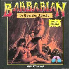 Barbarian - Palace Software - Atari ST - 1987