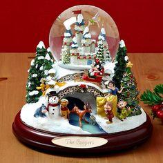 Christmas I Love Snow Let It Snow Christmas Snow Globes Disney Christmas