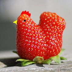 Strawberry rooster!