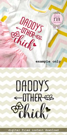 Daddys other chick cute father daughter baby by LoveRiaCharlotte