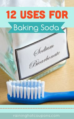 12 Uses For Baking Soda