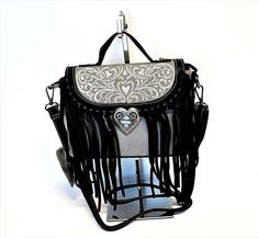 Made of top quality faux leather, this crossbody bag features A small zippered pocket on the inside back and two open pocket on the inside front. Leather Fringe, Leather Men, Fringe Crossbody Bag, Unique Purses, Vintage Turquoise, Long Wallet, Clearance Sale, Valentine Day Gifts, Leather Purses
