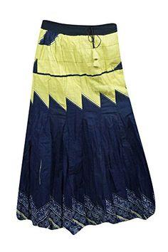Mogul Interior Womens Maxi Skirt Blue Printed Flared Sexy Summer Boho Hippie Long Skirts M/L Bohemian Skirt, Hippie Boho, Unique Fashion, Vintage Fashion, Holiday Skirts, Womens Maxi Skirts, Boho Girl, Flare Skirt, Pleated Skirt
