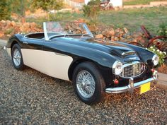 1960 Austin Healey, not heavy metal as such, but still awesome.