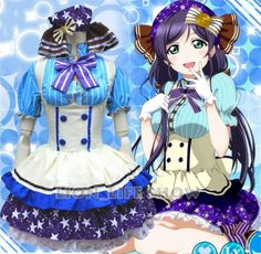 Love Live Tojo Nozomi Candy Maid Uniform :http://www.cebuanimeshoppu.com/product/love-live-tojo-nozomi-candy-maid-uniform/