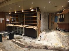 Renovations to the restaurant are underway