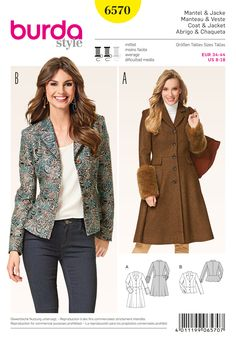 Burda 6570 sewing pattern