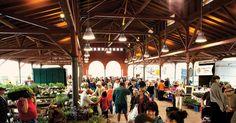 Pavilion Interior, Eastern Market, Detroit