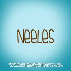 Neeles (Voor meer inspiratie, en unieke geboortekaartjes kijk op www.heyboyheygirl.nl)
