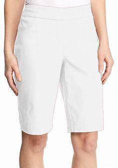 Kim Rogers® Super Stretch Bermuda Shorts