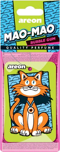AREON Δεντράκι MAO-MAO (Τσιχλοφούσκα) Auto Accessories, Bubble Gum, Cereal, Bubbles, Perfume, Car Accessories, Chewing Gum, Fragrance, Breakfast Cereal