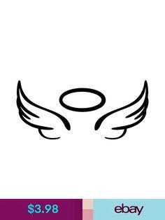 Halo Tattoo, Blue Tattoo, Arm Band Tattoo, Baby Tattoos, Mini Tattoos, Love Tattoos, Tatoos, Wing Tattoo Designs, Music Tattoo Designs